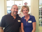 Tracy Crowell w/ Michael DiPasquale, Director of Facilities at Summerhill